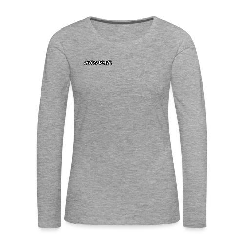 6R0V3R - Vrouwen Premium shirt met lange mouwen