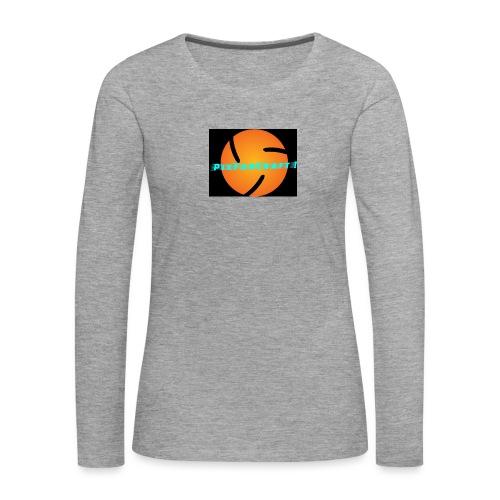 LOGO PixForCraft (Le logo de Juin 2017) - T-shirt manches longues Premium Femme