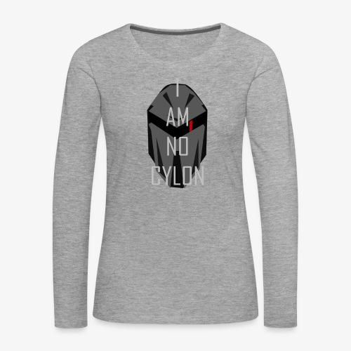 I am not a Cylon - Premium langermet T-skjorte for kvinner