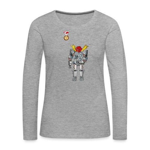 Trashcan - Frauen Premium Langarmshirt
