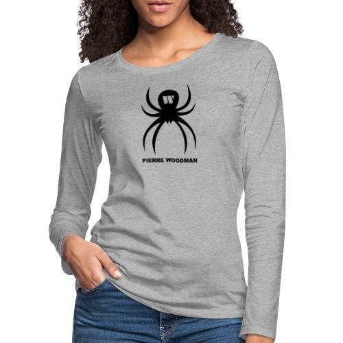 Spider + Pierre Woodman - Frauen Premium Langarmshirt