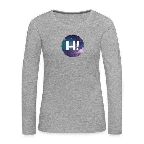 H! - Women's Premium Longsleeve Shirt