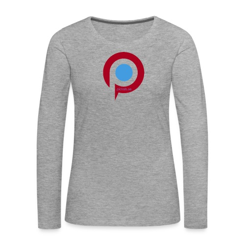 Pictab - Långärmad premium-T-shirt dam