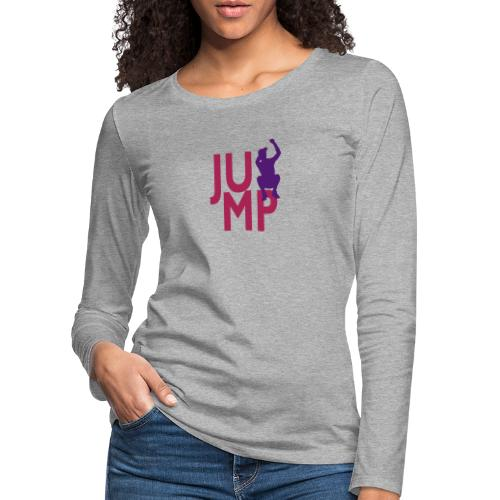 JUMP - Frauen Premium Langarmshirt