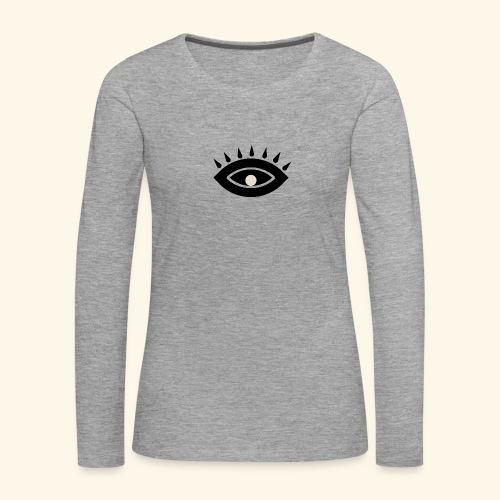 third eye - Långärmad premium-T-shirt dam