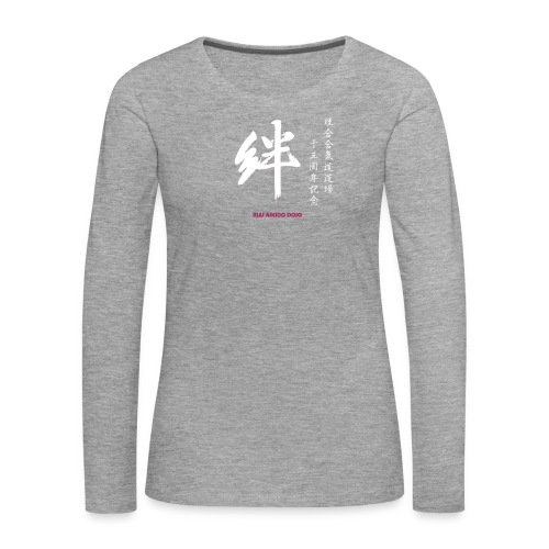 Riai 15 år svart herr långärmad - Långärmad premium-T-shirt dam