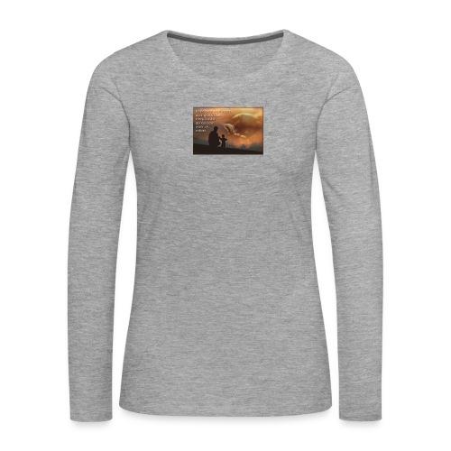Citation - T-shirt manches longues Premium Femme