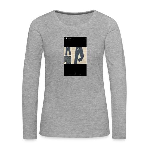 Allowed reality - Women's Premium Longsleeve Shirt