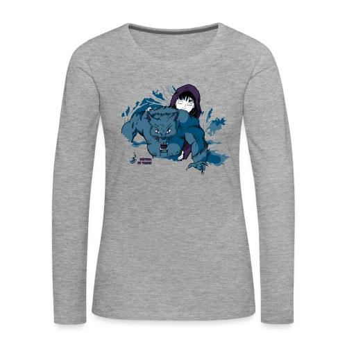Rothäppchen fürShirt END png - Frauen Premium Langarmshirt