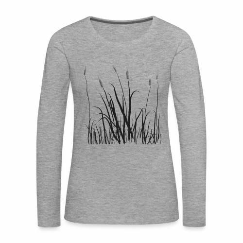 The grass is tall - Maglietta Premium a manica lunga da donna