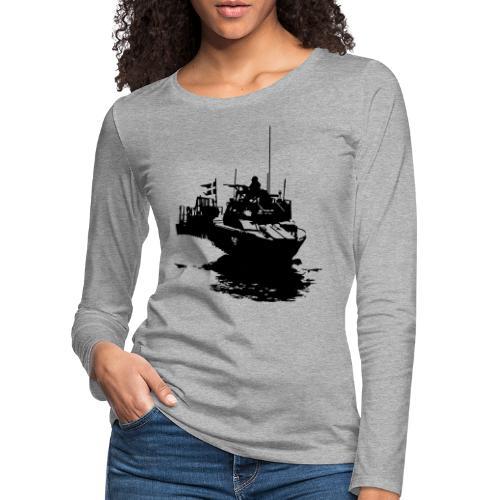 Combat Boat 90 - Stridsbåt 90 - Långärmad premium-T-shirt dam
