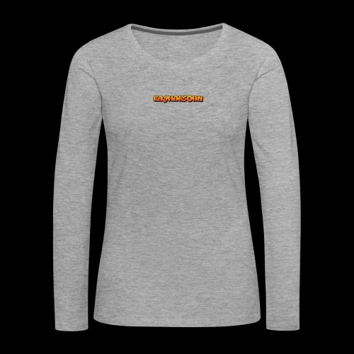 KajmakSohn - Frauen Premium Langarmshirt