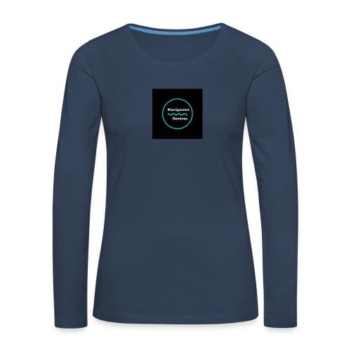 MaxSpanish - Vrouwen Premium shirt met lange mouwen