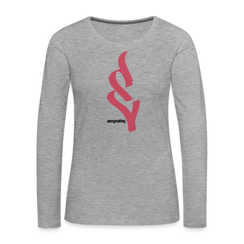 empathy e2 - Koszulka damska Premium z długim rękawem