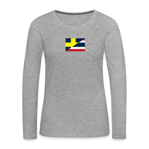 Sverige Thailand - Långärmad premium-T-shirt dam