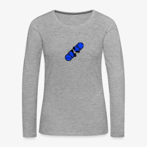 skateboard 512 - Dame premium T-shirt med lange ærmer