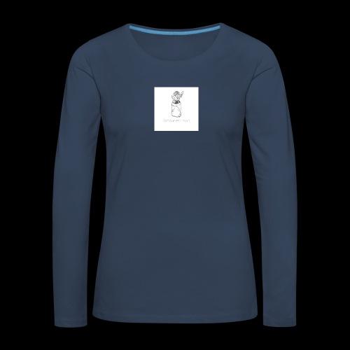 l'amour est mort - T-shirt manches longues Premium Femme