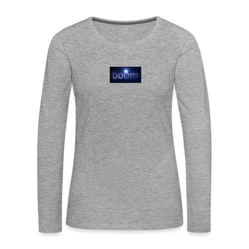 BOOOM - Koszulka damska Premium z długim rękawem