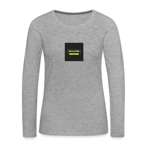 Don kläder - Långärmad premium-T-shirt dam