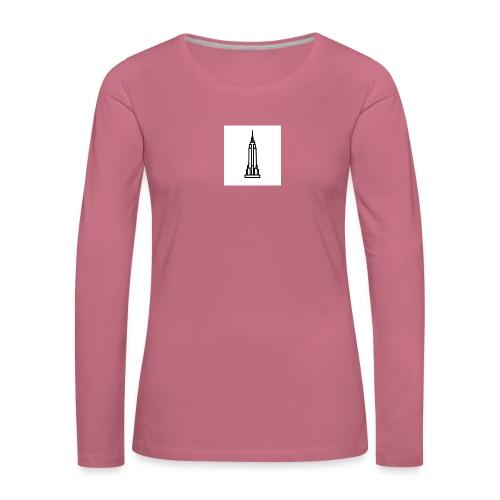 Empire State Building - T-shirt manches longues Premium Femme