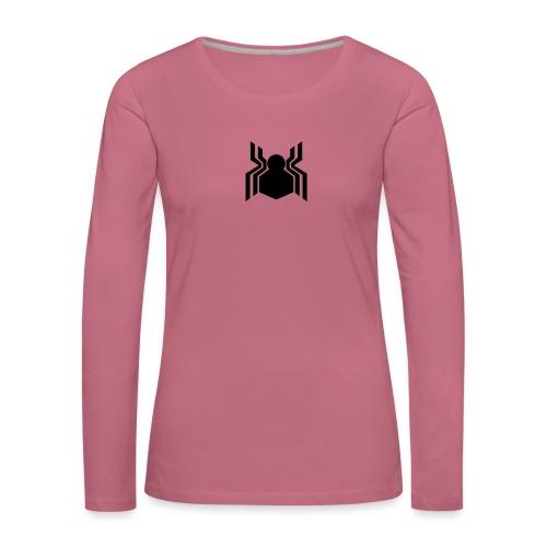 Civil Spider - Långärmad premium-T-shirt dam