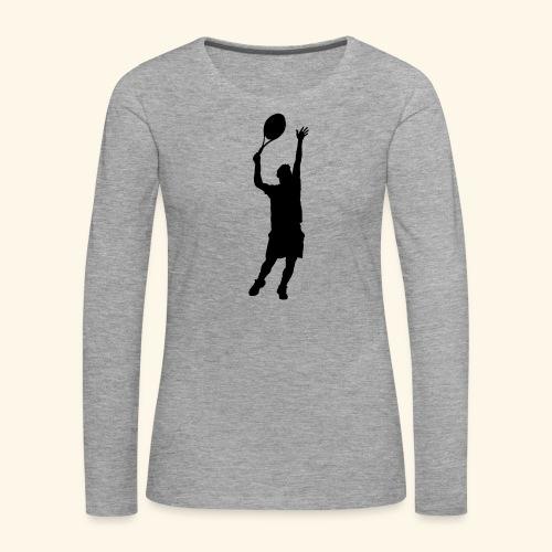 tennisman - T-shirt manches longues Premium Femme