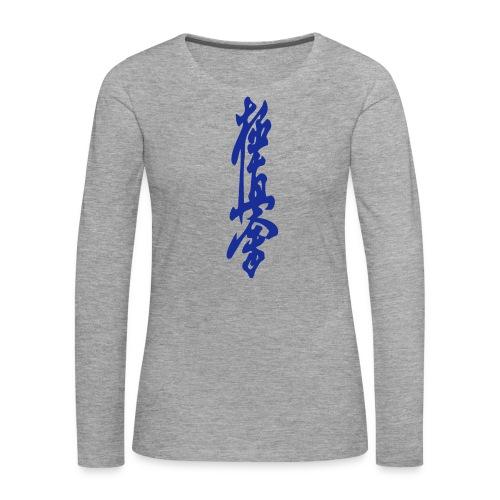 KyokuShin - Vrouwen Premium shirt met lange mouwen