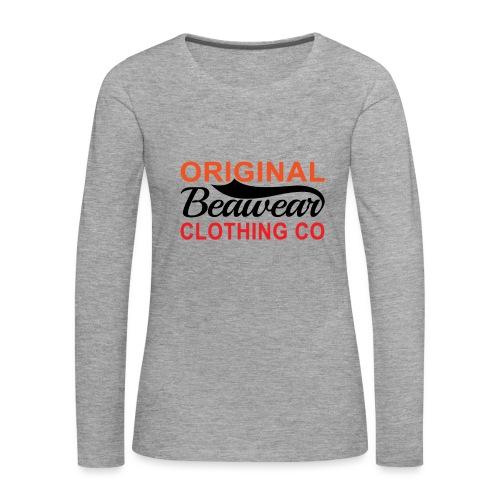 Original Beawear Clothing Co - Women's Premium Longsleeve Shirt