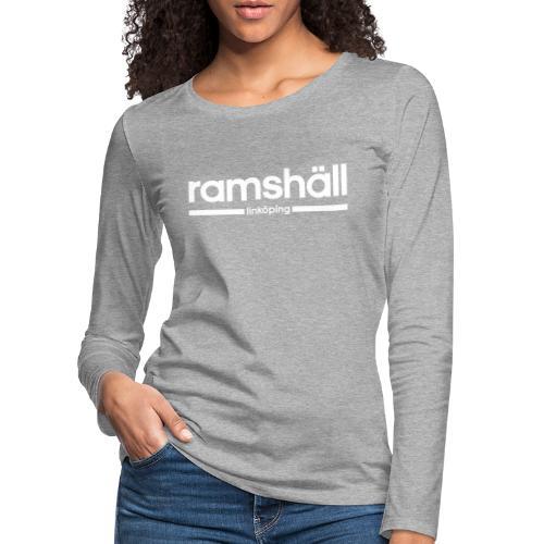Ramshäll - Linköping - Långärmad premium-T-shirt dam