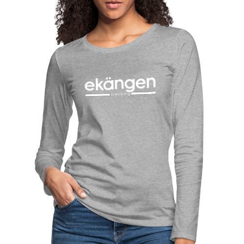 Ekängen - Linköping - Långärmad premium-T-shirt dam