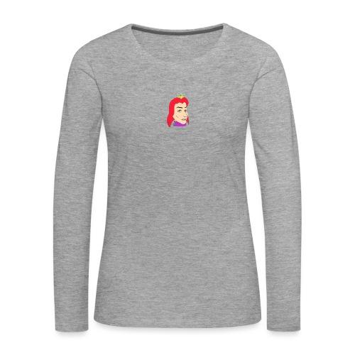queen - Camiseta de manga larga premium mujer