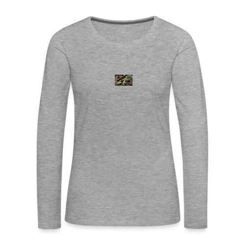 camu - Camiseta de manga larga premium mujer