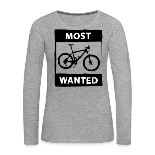 MTB - most wanted 2C - Frauen Premium Langarmshirt