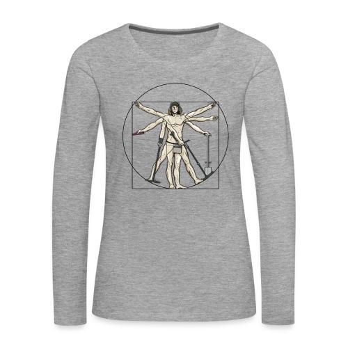Universal Detectorist - Camiseta de manga larga premium mujer