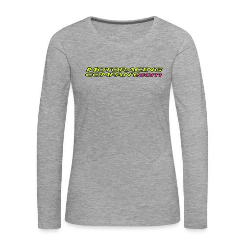 MRC - Naisten premium pitkähihainen t-paita