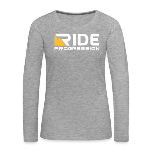 Ride 3 - Frauen Premium Langarmshirt