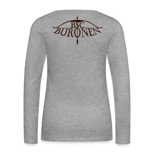 bsc buronen schwarz - Frauen Premium Langarmshirt