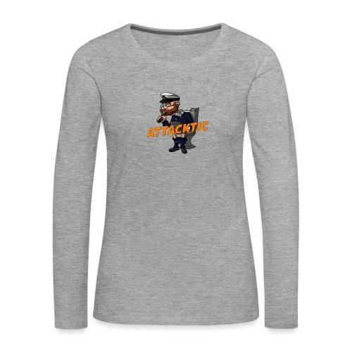 Logo - Frauen Premium Langarmshirt