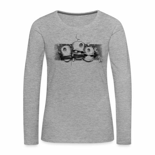 Dont ! Moe Frisco Ver01 - Dame premium T-shirt med lange ærmer