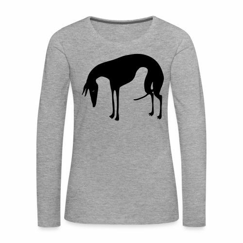 Sadepäivän Surku - Naisten premium pitkähihainen t-paita