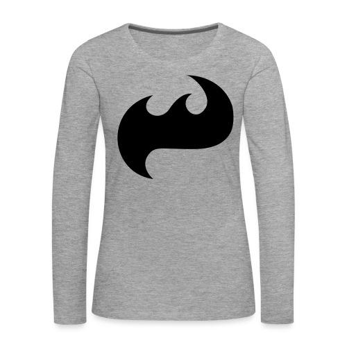 Highfish Logo - Frauen Premium Langarmshirt