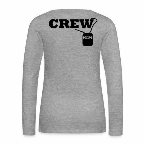 KON - Crew - Frauen Premium Langarmshirt