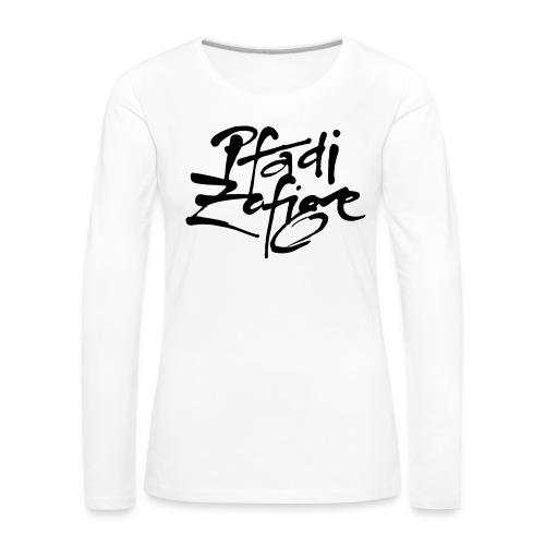 pfadi zofige - Frauen Premium Langarmshirt