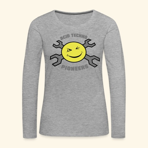 ACID TECHNO PIONEERS - SILVER EDITION - Women's Premium Longsleeve Shirt