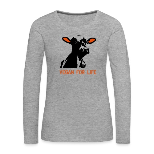 colorida vegan for life - Frauen Premium Langarmshirt