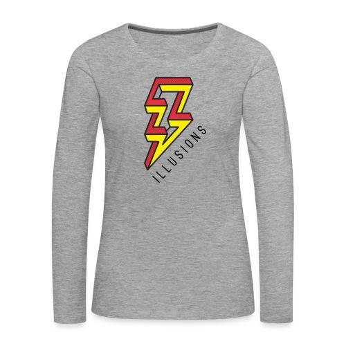 ♂ Lightning - Frauen Premium Langarmshirt