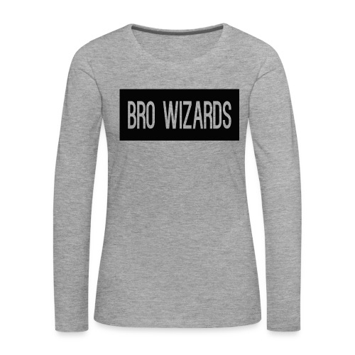 Browizardshoodie - Women's Premium Longsleeve Shirt