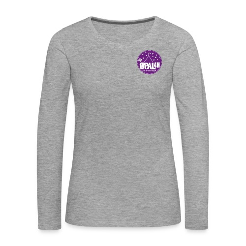 OPAL 4H Logo - Premium langermet T-skjorte for kvinner