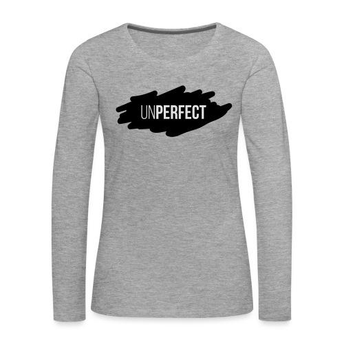 UNPERFECT LOGO 2 - Frauen Premium Langarmshirt