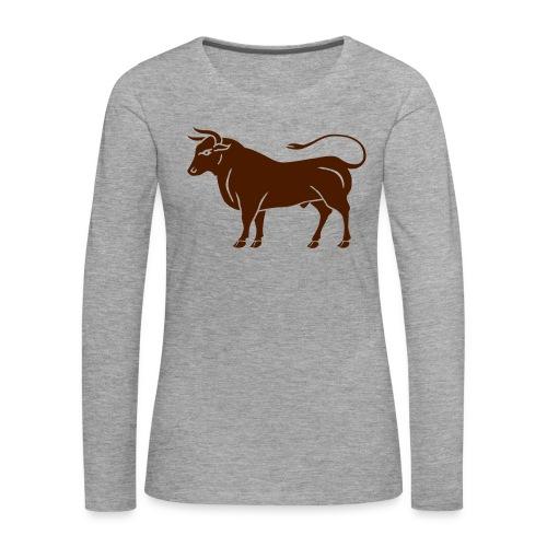 Année du boeuf - T-shirt manches longues Premium Femme
